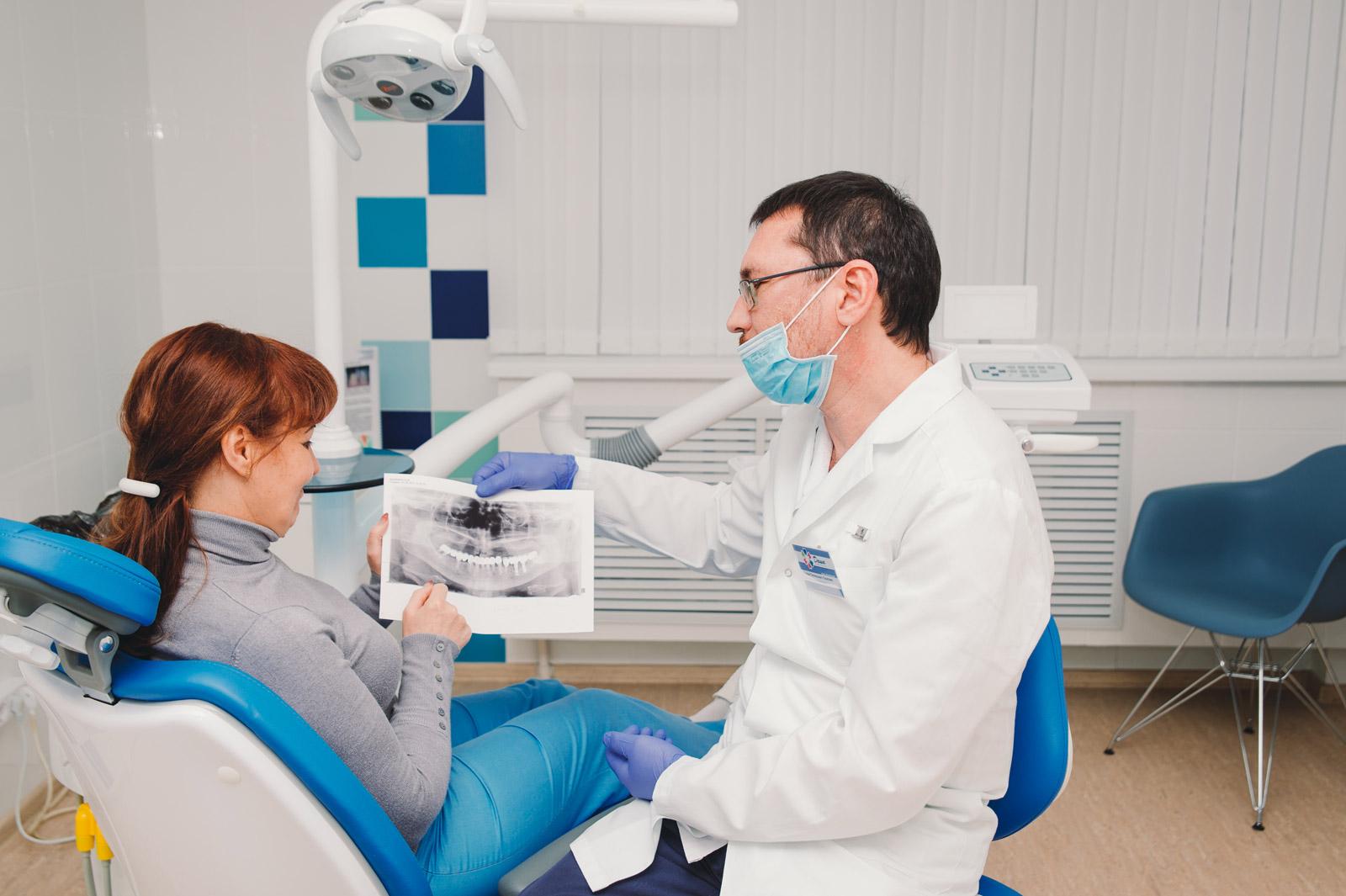 бесплатная консультация стоматолога имплантолога в Волгограде в стоматологии ДАША