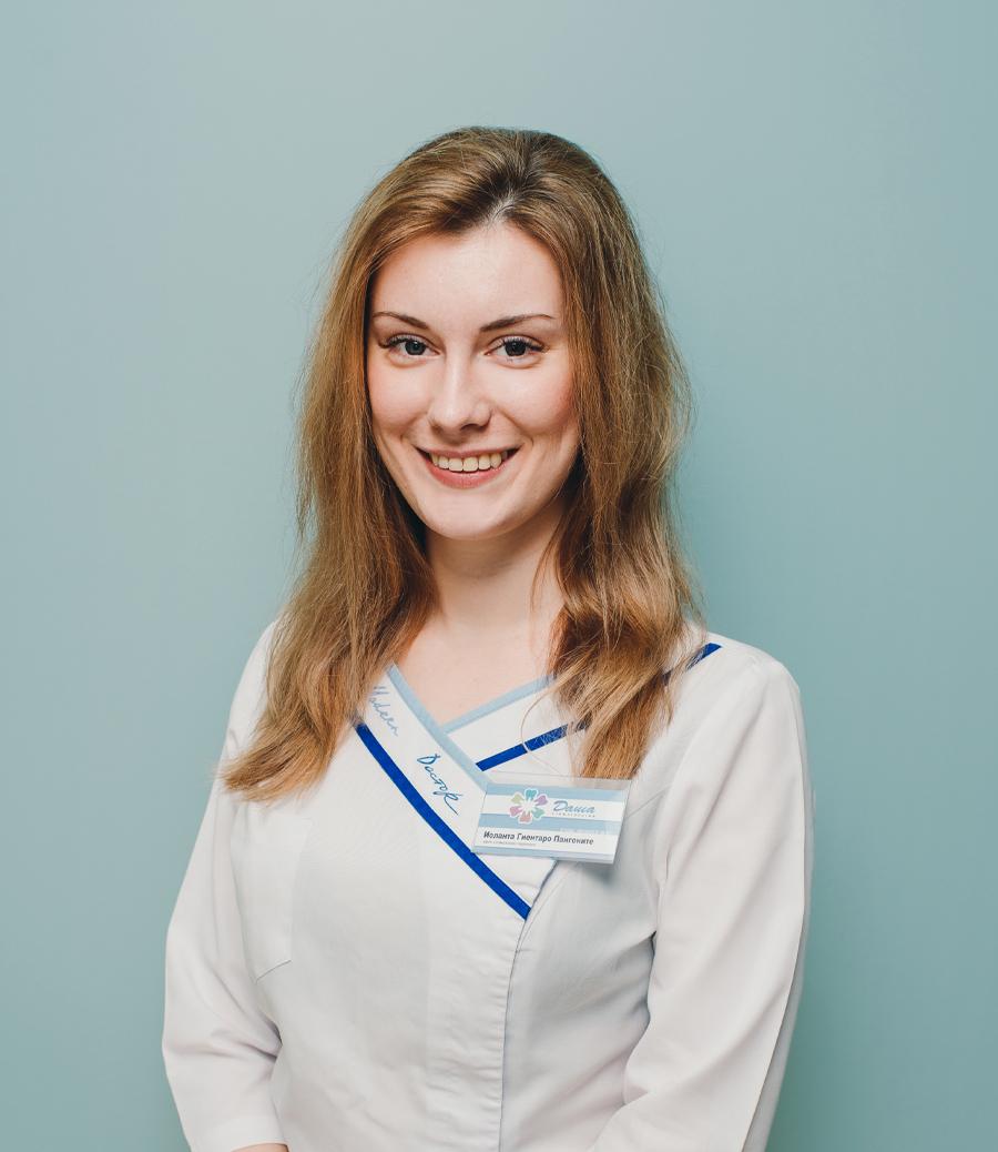 стоматолог-терапевт Пангоните Иоланта в Волгограде в клинике ДАША